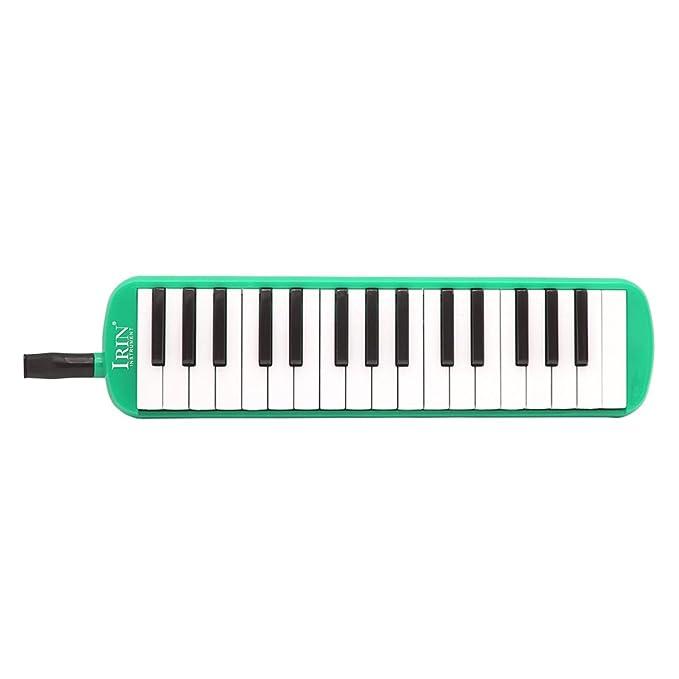 verde rosenice 32/Tasti di pianoforte Melodica Musica Strumento Educativo con custodia flessibile per gli amanti della musica principianti bambini regalo