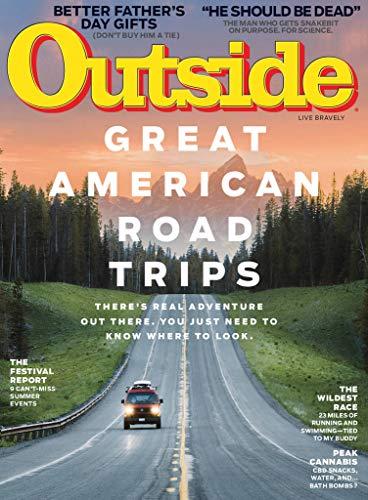Outside (1-year auto-renewal) [Print + Kindle]