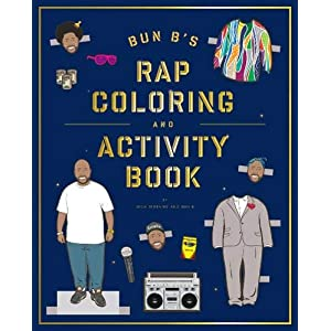 Bun B's Rapper Coloring and Activity Book 3