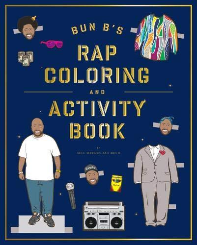 Bun B's Rapper Coloring and Activity Book 1