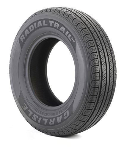 Carlisle Radial Trail HD Trailer Tire - ST205/75R15