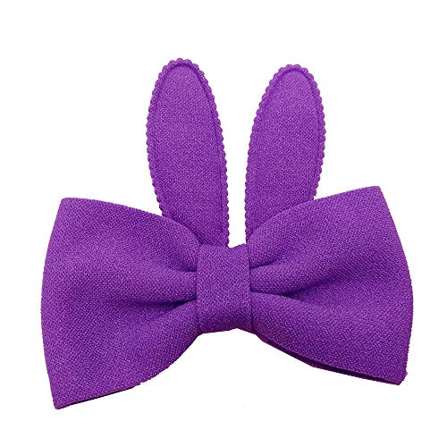 BBZUI Summer Cute Baby Girls Rabbit Ears Bow Hairpin Hair Head HairbandOutdoor Spring Fashion 2019(Purple)