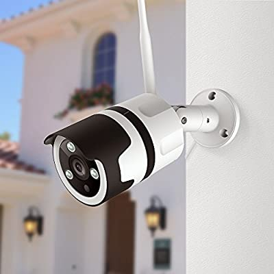 Outdoor Security Camera, Netvue 1080P WiFi Outdoor Surveillance Camera Two-Way Audio, IP66 Waterproof, FHD Night Vision, Motion Detection, Home Security Camera Activity Alert, Cloud Storage