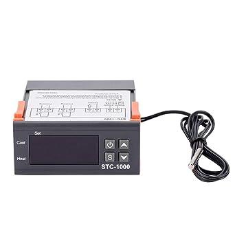 STC-1000 Termostato Digital para termostato modos de calefacción y refrigeración Temperatura Alcance de medición
