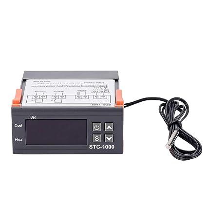 STC-1000 - Termostato controlador digital de temperatura con Senor
