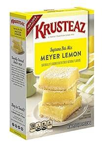Krusteaz Lemon Bars Supreme Mix, 19.35-Ounce Boxes (Pack of 12)