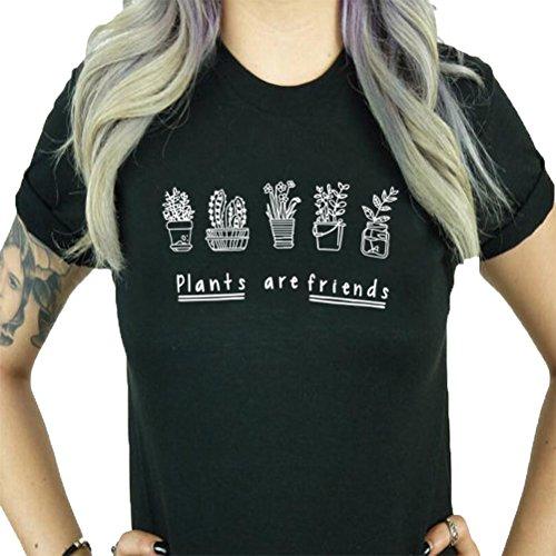 BLACKMYTH-Womens-Graphic-Funny-T-Shirt-Cute-Tops-Teen-Girl-Tees