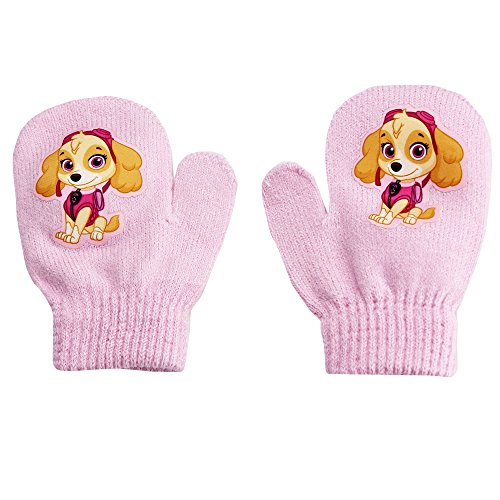 Price comparison product image PAW Patrol Skye Nickelodeon Nick Jr. Stretch Winter Mittens Pink Toddler 2T-4T