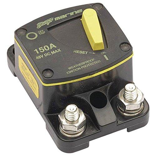 (Stinger SCBM150 Marine Circuit Breaker Waterproof 150 Amp - Ignition Protection Consumer)