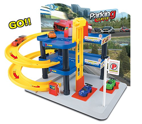 car garage playset - 5