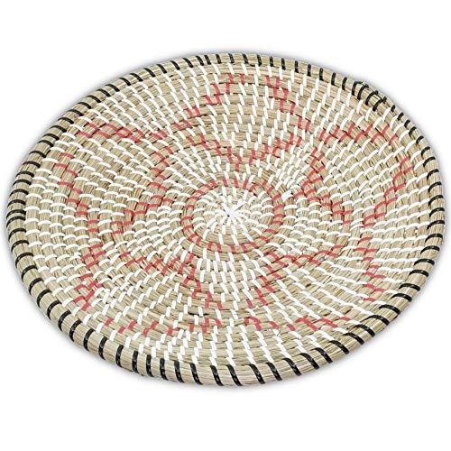 - Ann Lee Design Rattan Woven Fruit Basket (D 13.75