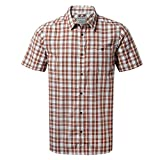 Craghoppers Mens Elmwood Checked Short Sleeved Shirt