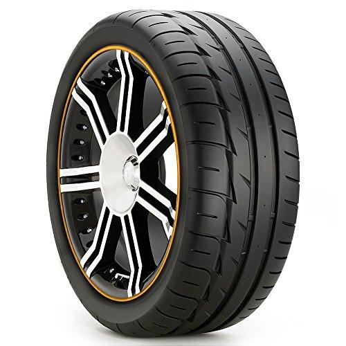 4x Yellow 21 Quot Inch 55cm Diy Cuttable Alloy Wheel Rim