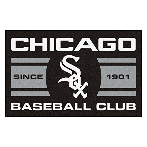 FANMATS 18464 Chicago White Sox Baseball Club Starter - Sox Starter Rug