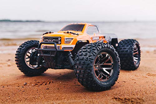Rtr 2wd Stadium Truck - ARRMA Granite 4x4 3S BLX Brushless 4WD RC Monster Truck RTR (LiPo Battery Required) with 2.4GHz Radio | 1:10 Scale (Orange/Black)