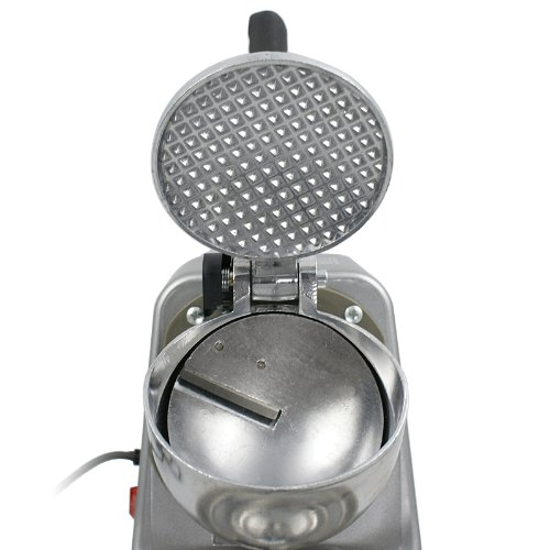 ZENY Ice Shaver Machine Ice Crusher Electric Snow Cone Maker Stainless Steel Shaving 143lbs Per Hour