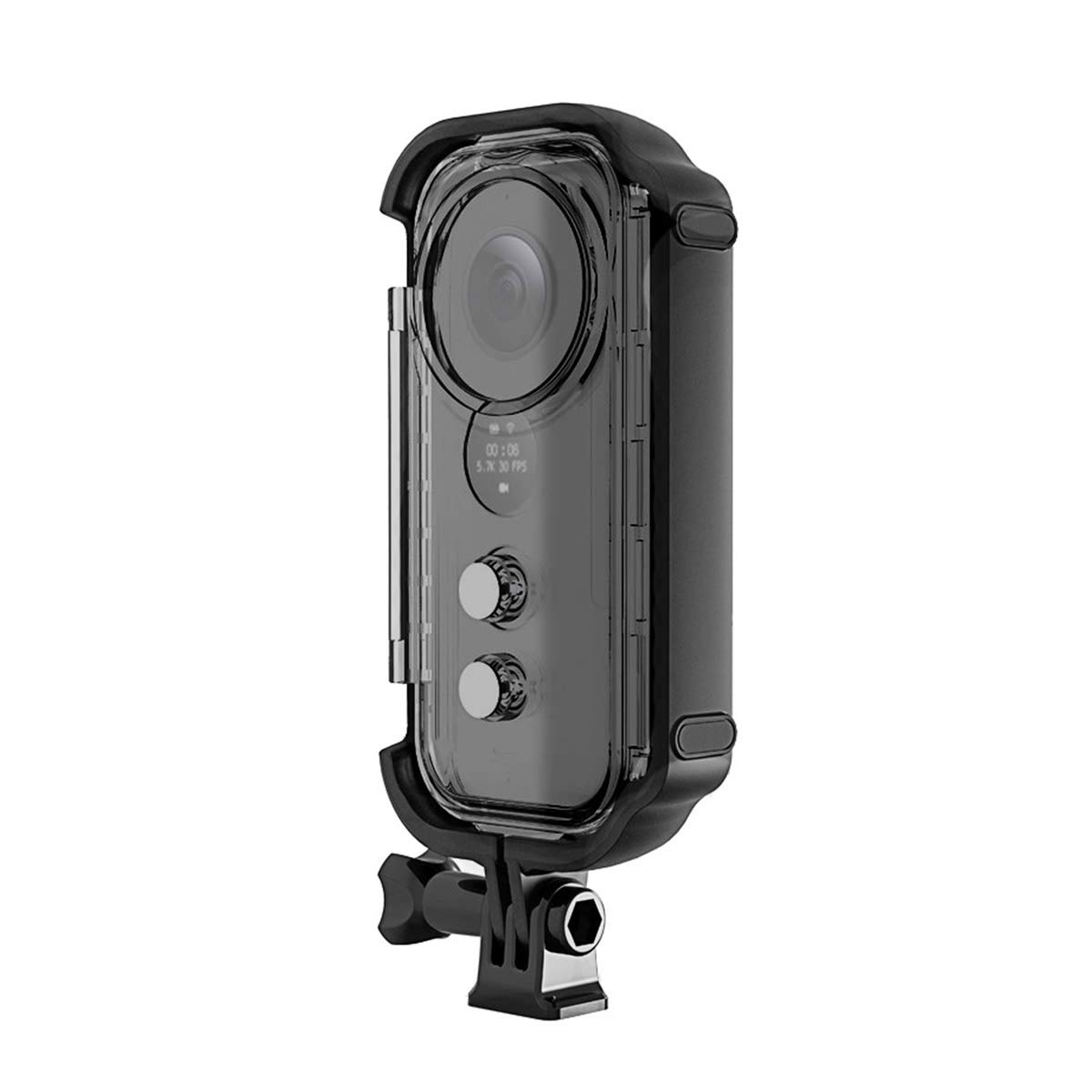 O'woda New Version Insta360 ONE X Waterproof Case Housing Diving Case for Insta360 One X Action Camera Accessories (Transparent) by O'woda