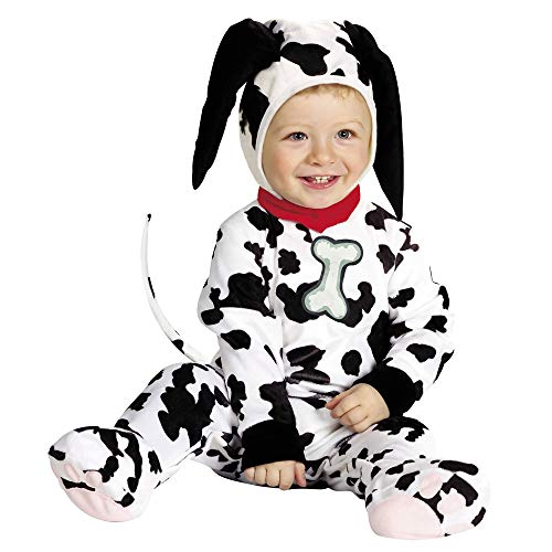 Children's Baby Cutie Dalmatian Costume (1-2yrs/90cm) (jumpsuit Headpiece)
