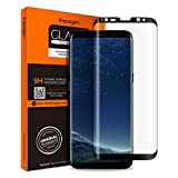 Spigen Glas.tR Curved Galaxy S8 Screen Protector [ Tempered Glass ] [ Case Friendly ] for Samsung Galaxy S8