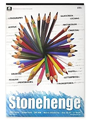 Stonehenge Drawing Pad 18 inch x 24 inch 12 sheets