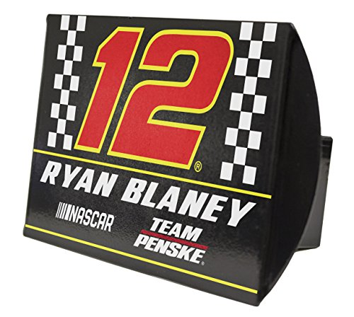 R and R Imports Ryan Blaney #12 Metal Trailer Hitch - Cover Hitch Nascar Trailer