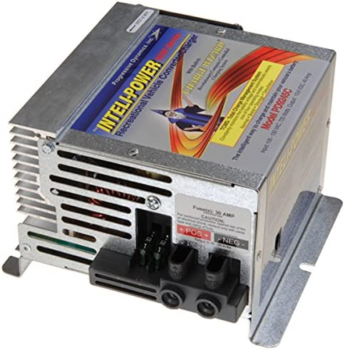 Progressive Dynamics PD9245CV Inteli-Power 9200 Series Converter Charger with Charge Wizard – 45 Amp