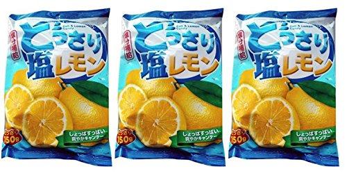 Sze Hing Loong - Salt & Lemon Candy 150g (Pack of 3)]()