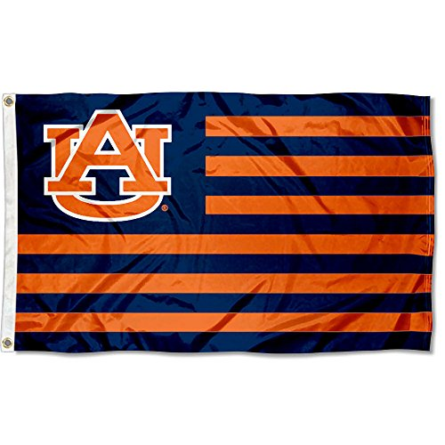 Auburn Tigers Stars and Stripes Nation Flag