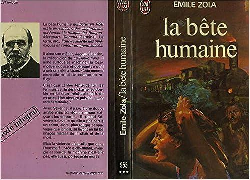 Amazon Fr Bete Humaine Jl Zola Emile Livres