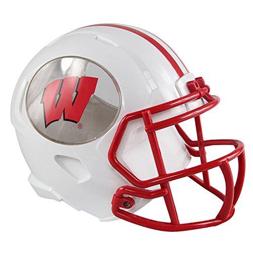 Helmet Piggy Bank - Forever Collectibles Wisconsin Badgers ABS Helmet Bank