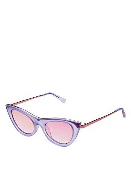 4ba1b5ef9ab Le Specs Women s Enchantress Sunglasses Blue Quartz One Size  Amazon.co.uk   Clothing