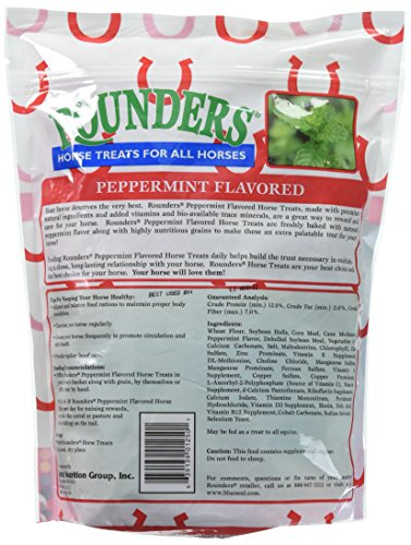 Peppermint Rounders Horse Treat 30 oz. by KENT NUTRITION GROUP/BSF (Image #1)