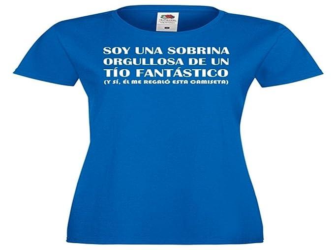 Camisetas divertidas Child Soy Una Sobrina Orgullosa de Un Tio Fantastico, y Si, el