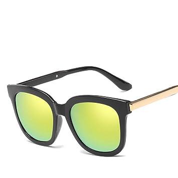 GJYANJING Gafas De Sol Gafas De Sol De Moda Vintage para ...