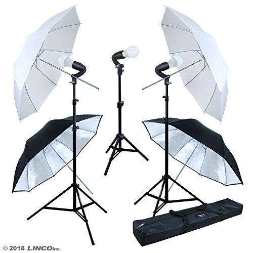 LINCO Lincostore Studio Lighting LED 2400 Lumens Umbrella Light Kit AM249 by Linco (Image #9)