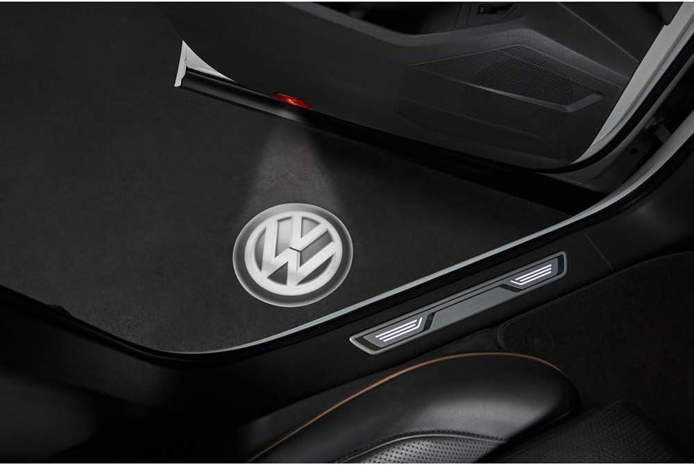 Volkswagen 000052120b Einstiegsbeleuchtung Vw Logo Projektion Led Einstiegsleuchte Projektor Logoleuchten Auto