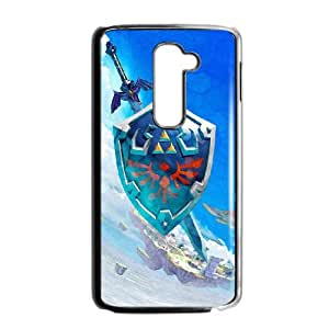 LG G2 Cell Phone Case Black The Legend of Zelda YWF Phone Case Personalized DIY