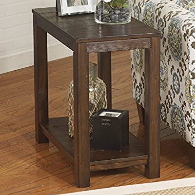 Signature Design By Ashley Grinlyn Brown Chair Side End Table