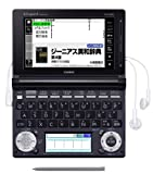 CASIO EX-word TAFCOT XD-D4850BK (Black) Touch Panel Japanese Electronic Dictionary with EX-VOICE Technology(Japan Import)