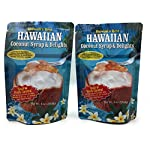 Hawaiian Coconut Pancake and Waffle Syrup Mix, 2 Pack - Makes up to 40 Ounces Total, Simple to Make, Just Mix with Hot Water 5