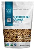 One Degree Organic Foods Sprouted Vanilla Chia Granola 11 oz. (Pack of 6)