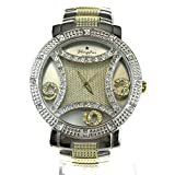 Large Rhinestone Bling Luxury Hip Hop Baller Iced Out Metal Wrist Watch