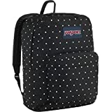 JanSport Unisex SuperBreak Black Polka Dot One Size