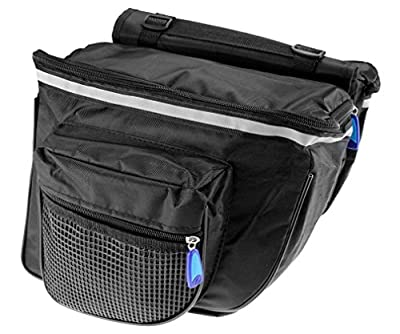 Micro Trader Bike Bicycle Cycling Double Side Rear Rack Tail Seat Pannier Bag