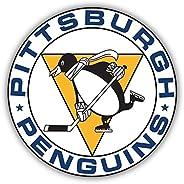 "Pittsburgh Penguins NHL Hockey Car Bumper Sticker Decal 5"""