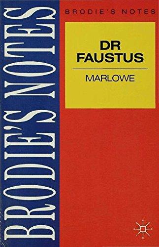 Marlowe: Dr. Faustus (Brodie's Notes)
