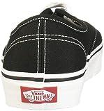 Vans Unisex Authentic Skate Shoe Black 10.5 D(M) US
