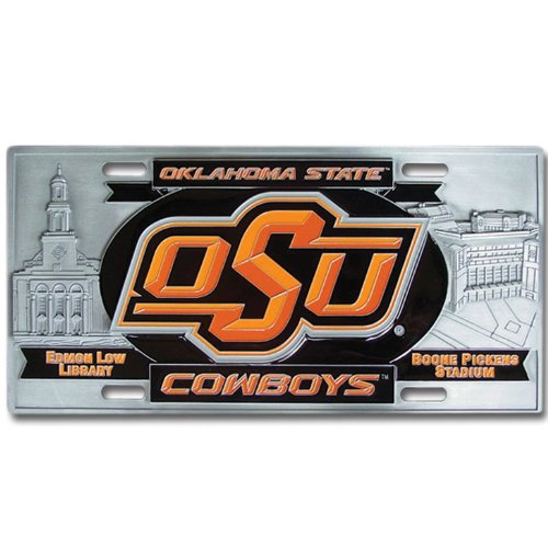Siskiyou Oklahoma St. Cowboys College Collector's Plate ()