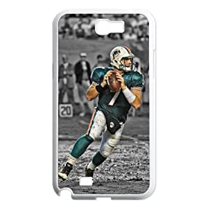 Miami Dolphins Samsung Galaxy N2 7100 Cell Phone Case White DIY gift zhm004_8688378