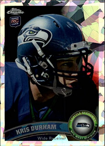 2011 Topps Chrome Crystal Atomic Refractors #89 Kris Durham /139 - NM-MT
